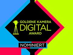 Goldene Kamera Digital Award Reportage nominiert 2017
